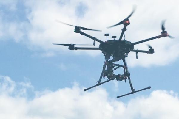 UAV(ドローン)測量について